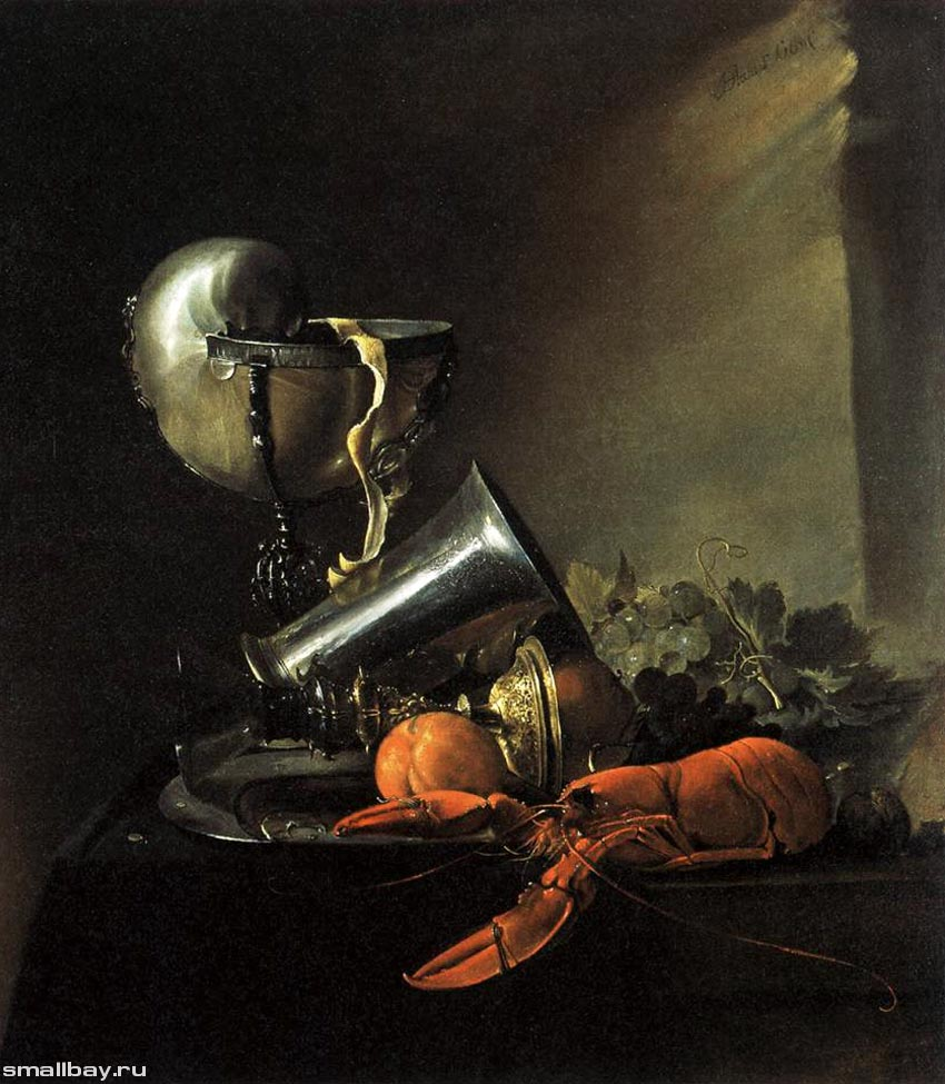 фламандский натюрморт:
