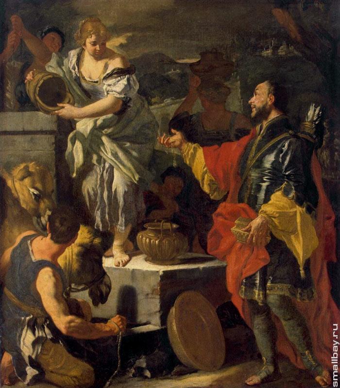 Образование мари де медичи, холст, масло по peter paul rubens (1577-1640, germany)