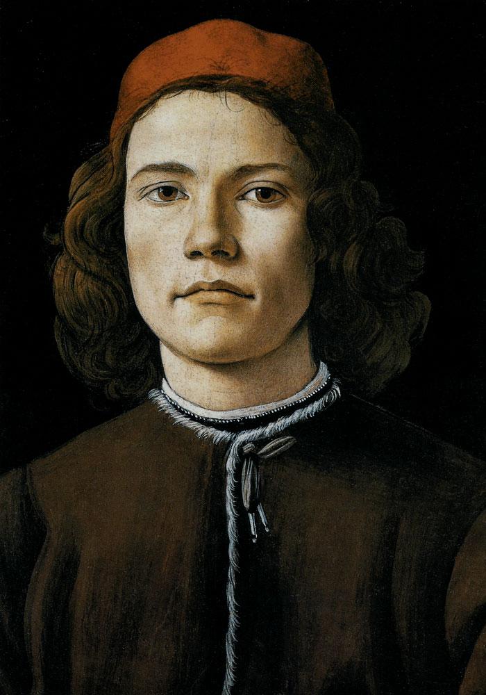 Боттичелли портрет молодого человека