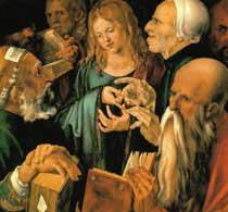 Дюрер Христос среди книжников