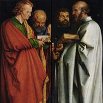 Дюрер Четыре апостола