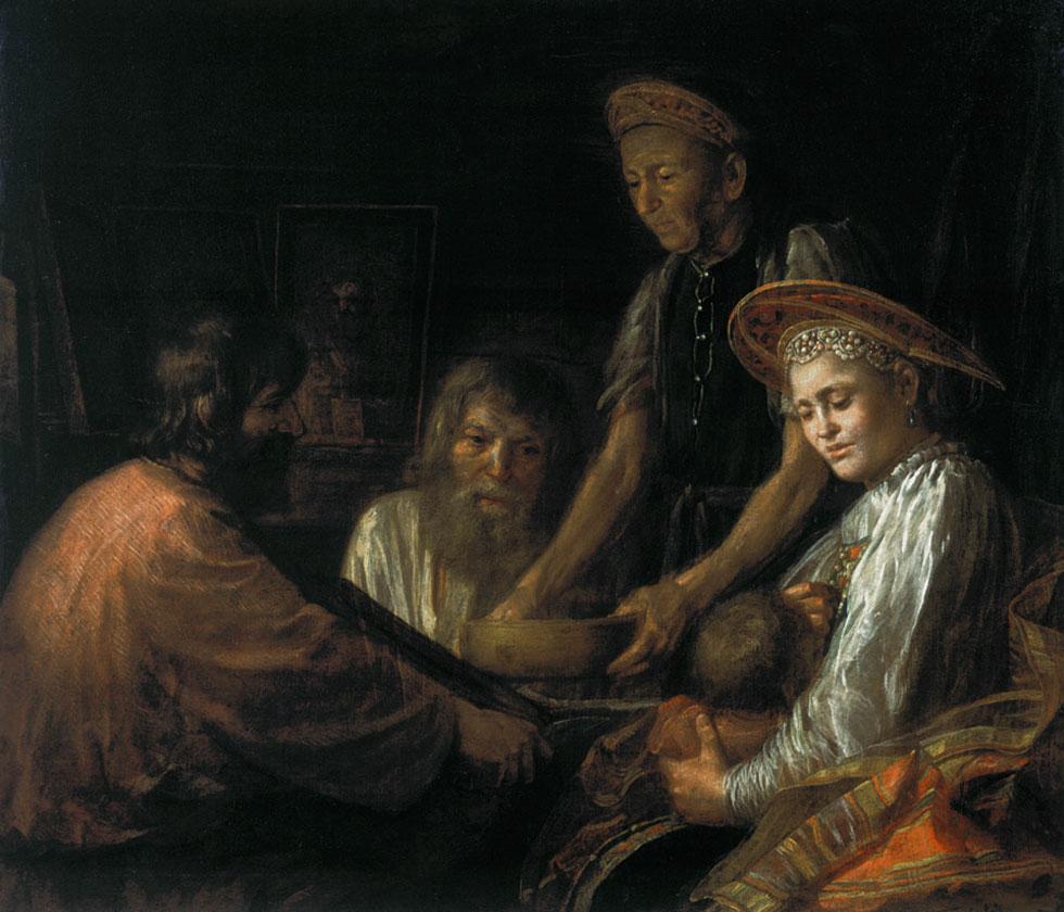 картина художника м.шибанова празднество свадебного договора - сочинение