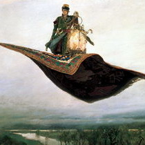 Васнецов Ковер-самолет