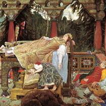 Васнецов Спящая царевна
