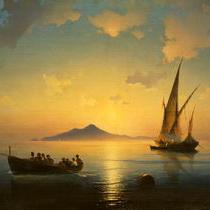Айвазовский Неаполитанский залив