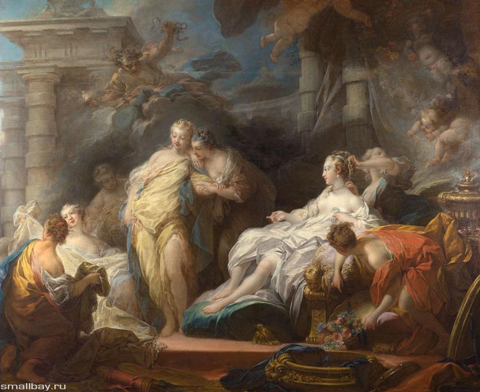 Живопись кауфман (портреты, библейские, исторические, литературные и античные мифологические сюжеты) развивается в рамках классицизма