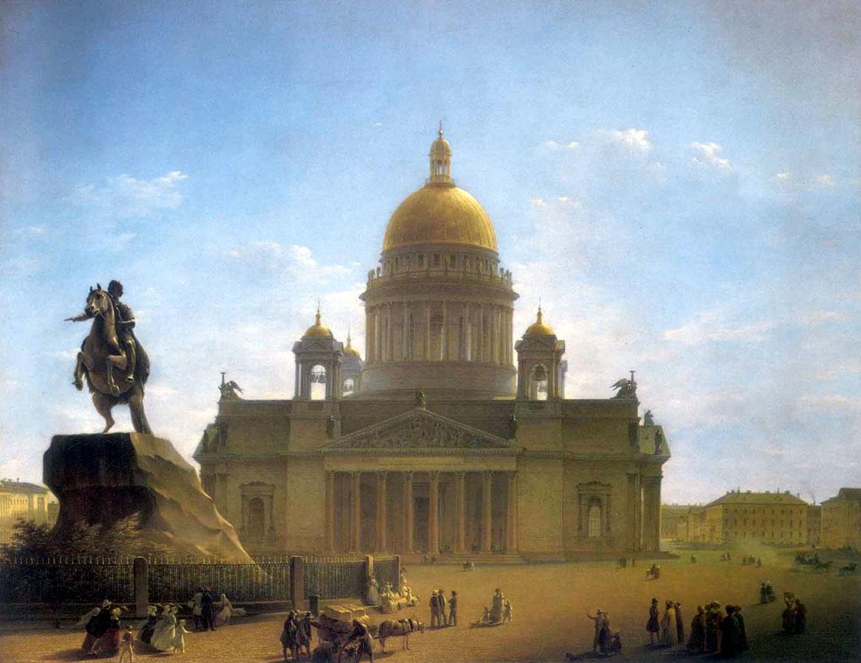 Воробьев исаакиевский собор и