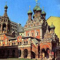 Архитектура Руси Церковь Троицы в Никитниках