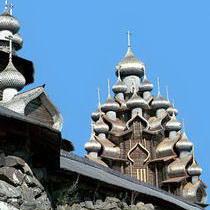 Зодчество Руси Кижи Преображенская церковь
