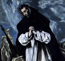 Эль Греко Молитва святого Доминика