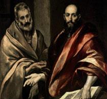Эль Греко Апостолы Петр и Павел