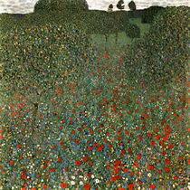 Климт Маковое поле