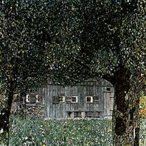 Климт Австрийский деревенский дом